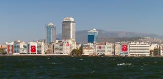 Izmir, Turkey. Cityscape of Alsancak, Izmir, Turkey Stock Photos