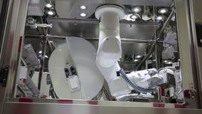 IZMIR, TURKEY - JANUARY 2013: chemotherapy Robot arm in lab Royalty Free Stock Photos
