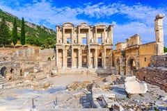 Izmir, Turkey. Library of Celsus in Ephesus Ancient city Stock Image