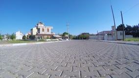 IZMIR, TURKEY - MAY 2015: Gopro traffic timelapse on road stock footage
