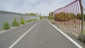 IZMIR, TURKEY - MAY 2015: Gopro traffic timelapse on road stock video footage