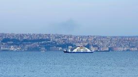 IZMIR, TURKEY - MAY 2015: ship moving stock video