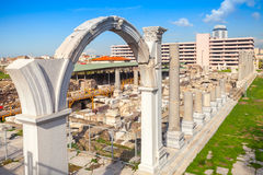 Izmir, Turkey, Ruins of Ancient Smyrna Royalty Free Stock Image