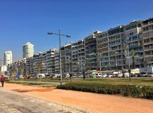 Izmir/Turkey A sunny beach walk in Aksaray on 03.07.2017. Travel to Izmir Stock Photography
