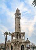 Izmir watch tower saat kulesi in konak square Royalty Free Stock Photo