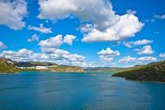 Iznajar Lake, Cordoba, Spain Stock Photography