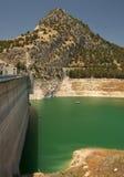 Iznajar Reservoir Dam Wall Stock Image