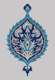 Iznik element Royalty Free Stock Image