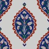 Iznik seamless pattern. Stock Images