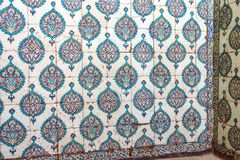 Iznik mosaics in  harem Royalty Free Stock Photo