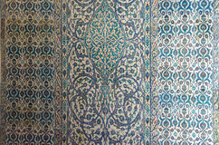 Iznik mosaics in  harem Stock Photos