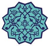iznik motywu ottoman royalty ilustracja