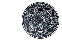 Iznik pottery charger Stock Photo