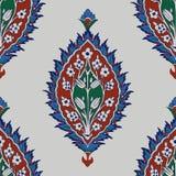 Iznik seamless pattern. Stock Photo