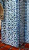 Iznik tile mosaics Royalty Free Stock Photos