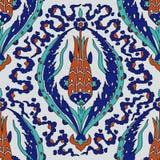Iznik tile pattern Stock Photography