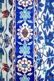 Iznik tiles in Rustem Pasa Mosque, Istanbul Stock Photo
