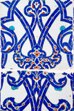 Iznik tiles in Rustem Pasa Mosque, Istanbul Stock Photo