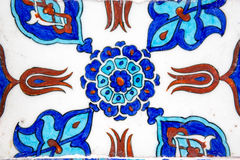 Iznik tiles in Rustem Pasa Mosque, Istanbul Stock Photos
