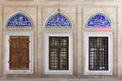 Iznik Tiles in Selimiye Mosque Stock Image
