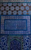 Iznik tiles in the Topkapi Palace Royalty Free Stock Photography