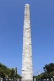Izolujący obelisk w Istanbuł Zdjęcia Royalty Free