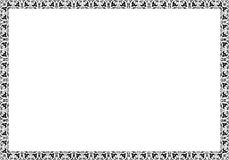 Izolujący ramowy tło szablon dla świadectwa Obrazy Royalty Free