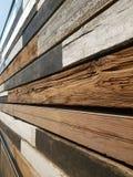 izoluje drewnianego Zdjęcie Stock