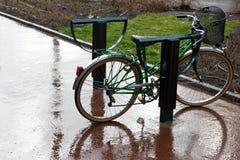 Izquierda en la lluvia Foto de archivo libre de regalías