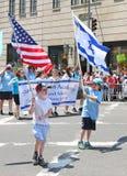 Izrael dnia parada 2015 Zdjęcie Stock