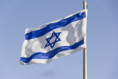 Izrael flaga Obraz Royalty Free
