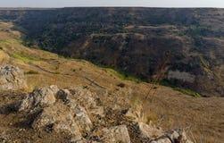 Izrael Gamla rezerwat przyrody Zdjęcie Royalty Free
