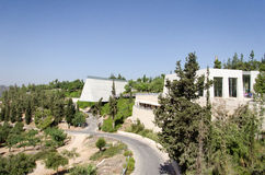 Izrael jervis Yad Vashem (imię i pamięć) Fotografia Royalty Free