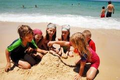 Izrael morza śródziemnomorskiego linia brzegowa Obraz Royalty Free
