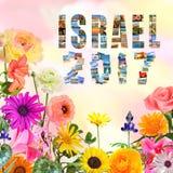 Izrael nowego roku 2017 podróży Magiczny świat Fotografia Stock