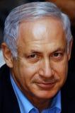 Izrael Pierwszorzędny minister - Benjamin Netanyahu Obraz Stock