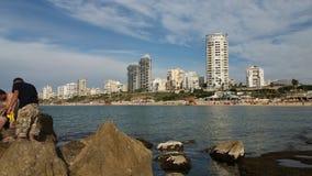 Izrael plaża Obraz Royalty Free