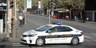 Izrael policja Obrazy Royalty Free