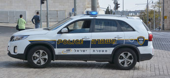 Izrael policja Fotografia Royalty Free