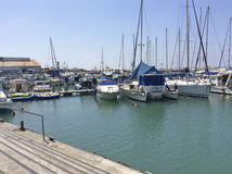 Izrael portowy Stary Yaffo Jaffa, Yafo (,) Obrazy Stock