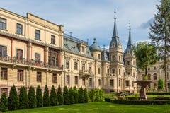 Izrael Poznanski ` s宫殿是19世纪宫殿在罗兹,波兰 免版税库存图片