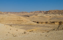 Izrael. Pustynny Negew obraz stock
