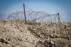 Izrael. Pustynny Negew obraz royalty free