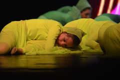 Izraeliccy młodość tancerze Obraz Royalty Free