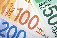 Izraeliccy Nowi sykle, biznesowy tło obraz stock