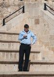 Izraelicki polityk Stas Misezhnikov, były minister turystyka zdjęcie stock