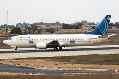 Izraelickich elektronika Estradowy Eksperymentalny samolot Obraz Stock