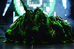 Izraelita Hip-hop tancerzy grupa Zdjęcia Royalty Free