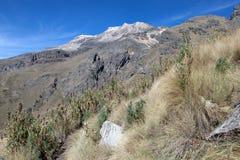 Iztaccihuatl hiking trail Stock Photography