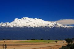 Iztaccihuatl II Royalty Free Stock Photography
